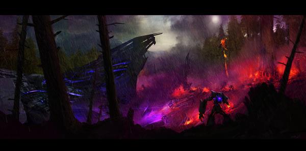 Zone de départ Decepticon