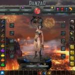 Panzar Screenshot Feuille de personnage