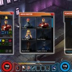 Marvel heroes inventaire et roster
