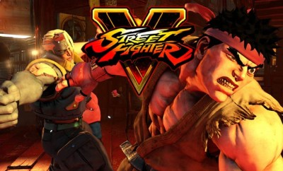 Street fighter 5 art