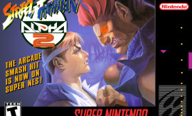 Street fighter alpha 2 cover snes