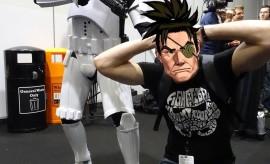 Jeek contrôlé par un trooper