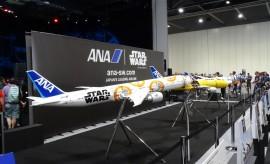 japan air line star wars